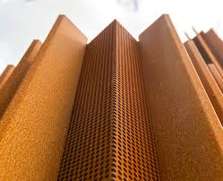Cor ten steel Rusted Corten Steelclad Oke Cultural House Evokes The Former Mining Identity Of Ortuella Postmus Sierbestrating Corten Steelclad Oke Cultural House Evokes The Former Mining