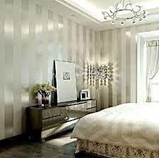 striped wallpaper with metallic sheen