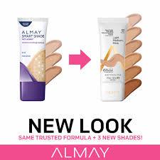 Almay Smart Shade Anti Aging Makeup Light Almay Smart Shade Anti Aging Skintone Matching Makeup Spf 20