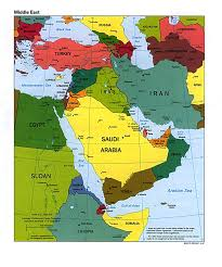 asia maps and map of middle east and  roundtripticketme