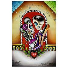 home by dave sanchez tattoo art print