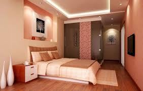 Bedroom: Cool White Bed Low Profile Design And Appealing Drop Ceiling Lighting  Design Plus Fetching