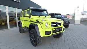 G Electric Mercedes Benz G500 4x4 Electric Youtube