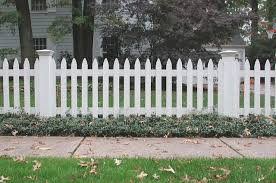 white wood fence. Wonderful Fence Reverse Runner Wood Picket Fence With Federal Post Caps Intended White