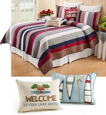 quilted lake bedding collection wild