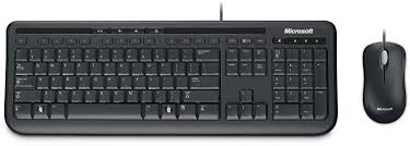 the package comprises microsoft s keyboard 600 us version pictured and optical mouse