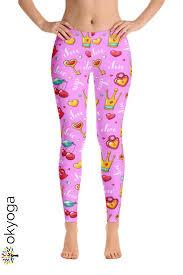 Light Leggins Pink Leggins Fashion Leggings Leggings Made Of Polyester