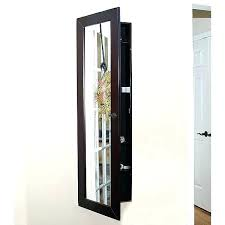 wall mount jewelry armoire mirror. Ith Wall Mount Jewelry Armoire Mirror Mounted Jewellery With . I
