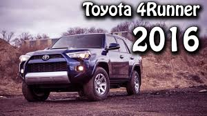 2016 Toyota 4Runner SUV Rear/4-Wheel-Drive 5-Speed Automatic - YouTube
