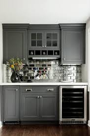 Kitchen Cabinet Design With Mini Bar Tour A Home That Checks All Our Favorite Design Trend Boxes