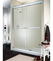 fleurco verona frameless sliding glass shower door