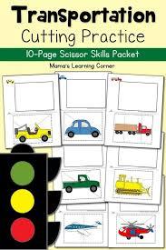 transportation theme free printables for - preschool printables ...