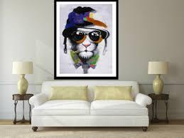 24 x 20 cat mafia large street art