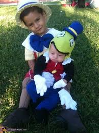 Small Picture and Jiminy Cricket Costume