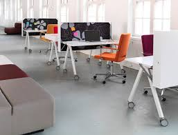 efficient office design. compact modern office desk efficient design