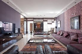 visions furniture. Moscow Apartment With Purple Hues Visions Furniture