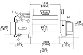 warn winch wiring diagram solidfonts warn winch wiring diagram m8000 ewiring
