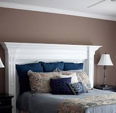 i have an extra mantle in my basement what a great idea 20 creative headboard ideas to imitate a fireplace
