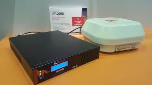 """AVIWEST a Twitter: """"Interested by #4K Remote Production and contribution  over bonded cellular ? Come and see our demo with our #HE4000 4K/multi HD  encoder paired with #QUAD CellLink integrated 4G modems. #"""