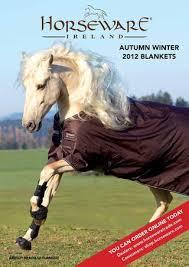Aw12 Blanket Catalog Usa By Horseware Ireland Issuu