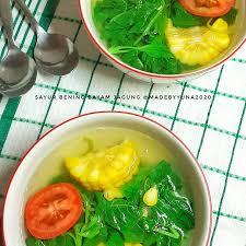 Potong2 bayam, kemangi & tomat lalu cuci bersih. Sayurbeningbayamjagung Instagram Posts Photos And Videos Picuki Com