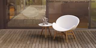 another fabulous gloster pairing is the dansk lounge chair and dansk side table they complement each other effortlessly with their beautiful designs which