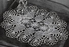 Oval Crochet Doily Patterns Free Adorable Pineapple Oval Doily Pattern 48 Crochet Patterns