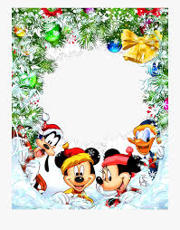 Mickey Shaped Christmas Lights Disney Christmas Clipart Borders Mickey Mouse Christmas