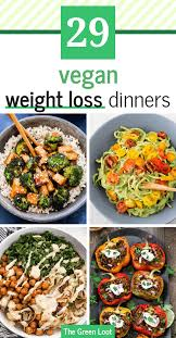 healthy vegan weight loss recipes for
