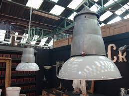 pendant lighting over kitchen sink set of 5 french vintage industrial pendant light fixtures sold