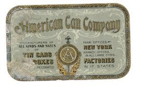 「american can company」の画像検索結果