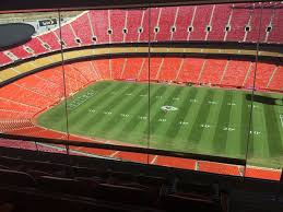 Breakdown Of The Arrowhead Stadium Seating Chart Kansas