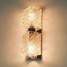 statement lighting. Vintage Crystal And Chrome Wall Lights Statement Lighting