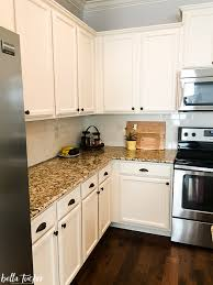 Black Granite Countertops With Tile Backsplash Mesmerizing How To Work With Your Existing Granite When Updating Your Kitchen