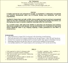 Professional Profile For Cv How To Write Profile On Resume And How