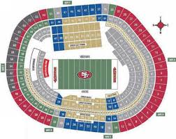 San Francisco Stadium Seating Chart Pin By Marc Dewalt On Nfl San Francisco 49ers San