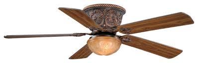corazon 52 flushmount ceiling fan aged bronze