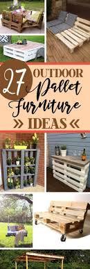 outdoor deck furniture ideas pallet home. 27 Stunning Outdoor Pallet Furniture Ideas You\u0027ll Love Deck Home R