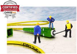 Cable Installation Job Fiber Optic Cabling Installation Services Toronto 416 273