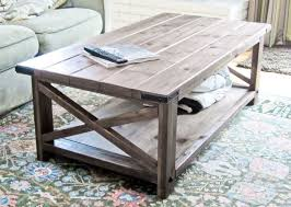 18 free diy coffee table plans you can