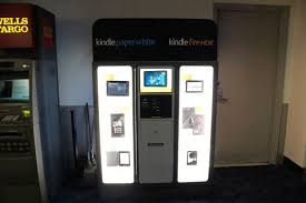 Vending Machine Purchase Adorable Amazon Turns To Vending Machines To Move Its Kindle Slates Tablet News