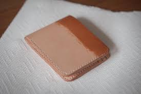 remember to oil your leather item once or twice a year to keep it smooth and durable