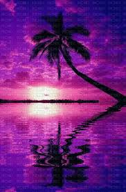 Purple Ocean Sunset Purple Ocean Sunset Sunrise Sun