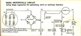 old biker bert s british bike site this is a diagram of a basic 6v system converted to 12v using a zenor diode for voltage control the wiring details of the more modern regulator rectifier