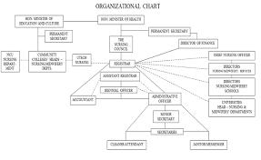 Organizational Chart – Nursing Council Of Jamaica
