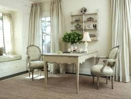 neutral office decor. Country Office Decor Neutral And Elegant Home With Fabrics Refined Furniture French