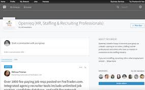 linkedin groups every recruiter should join social talent openreq linkedin group