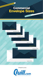 Size Of 10 Envelope Business Envelope Size Chart No 10 More Quill Com