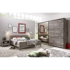 Schlafzimmer Rio Moon Driftwood Nb Inkl Kleiderschrank