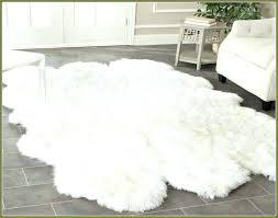 sheepskin rug fur cleaning ikea sheep fake